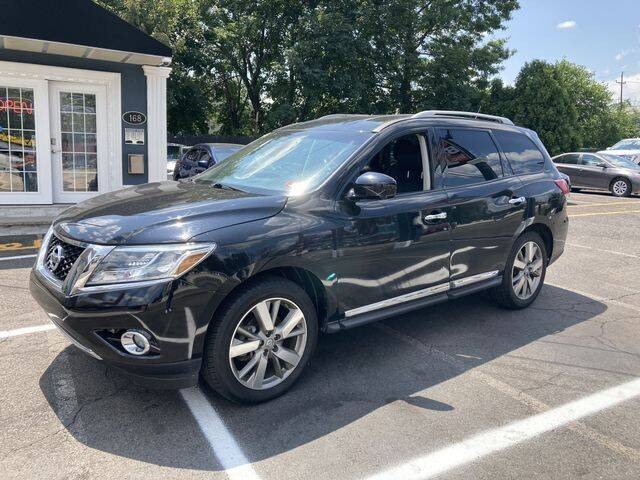 2013 Nissan Pathfinder for sale at QUALITY AUTOS in Hamburg NJ