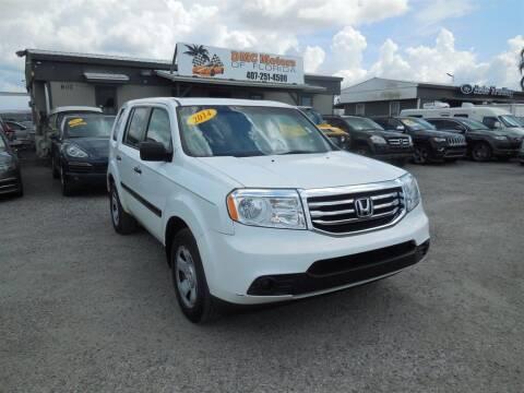 2014 Honda Pilot for sale at DMC Motors of Florida in Orlando FL