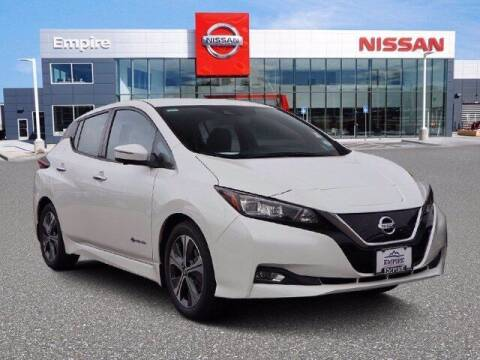 2019 Nissan LEAF for sale at EMPIRE LAKEWOOD NISSAN in Lakewood CO