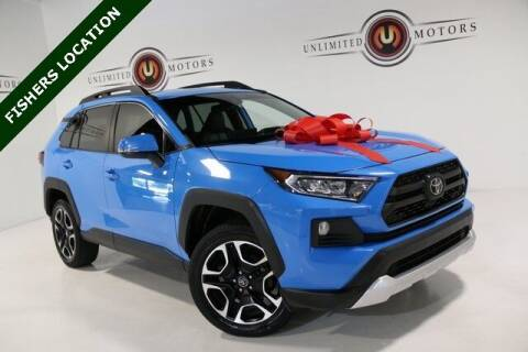 2019 Toyota RAV4 for sale at Unlimited Motors in Fishers IN