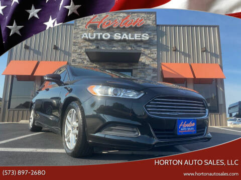 2014 Ford Fusion for sale at HORTON AUTO SALES, LLC in Linn MO