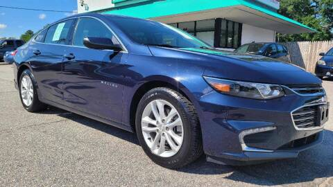 2017 Chevrolet Malibu for sale at Action Auto Specialist in Norfolk VA