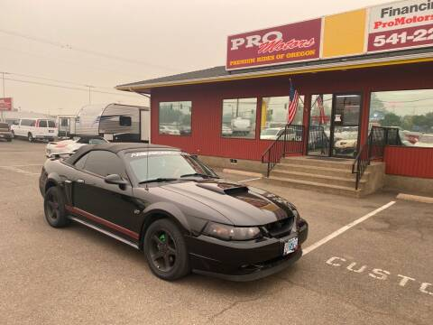 2003 Ford Mustang for sale at Pro Motors in Roseburg OR