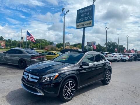 2017 Mercedes-Benz GLA for sale at Michaels Autos in Orlando FL