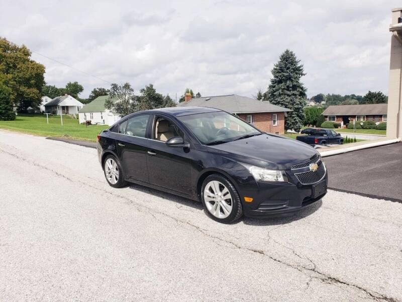 2011 Chevrolet Cruze for sale at Hackler & Son Used Cars in Red Lion PA