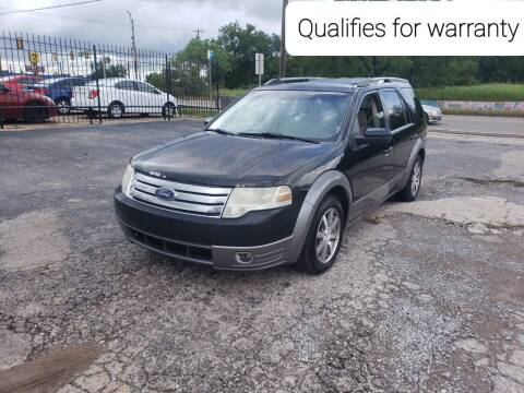 2008 Ford Taurus X for sale at NOTE CITY AUTO SALES in Oklahoma City OK
