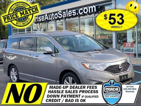 2013 Nissan Quest for sale at AUTOFYND in Elmont NY