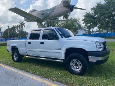 2007 Chevrolet Silverado 2500HD Classic for sale at BIG BOY DIESELS in Ft Lauderdale FL