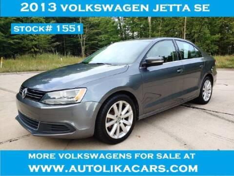 2013 Volkswagen Jetta for sale at Autolika Cars LLC in North Royalton OH