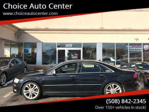 2008 Audi S8 for sale at Choice Auto Center in Shrewsbury MA