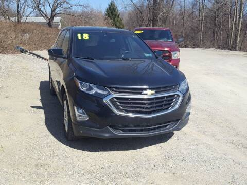 2018 Chevrolet Equinox for sale at Jack Cooney's Auto Sales in Erie PA