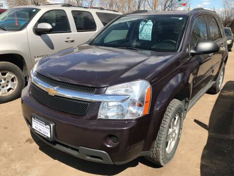 2007 Chevrolet Equinox for sale at BARNES AUTO SALES in Mandan ND