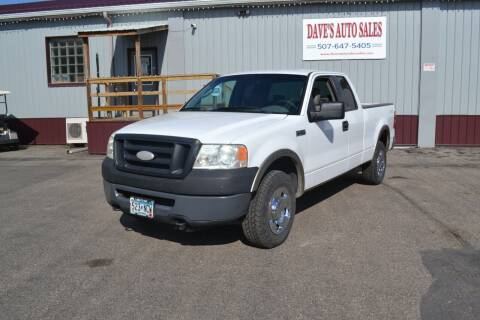 2007 Ford F-150 for sale at Dave's Auto Sales in Winthrop MN
