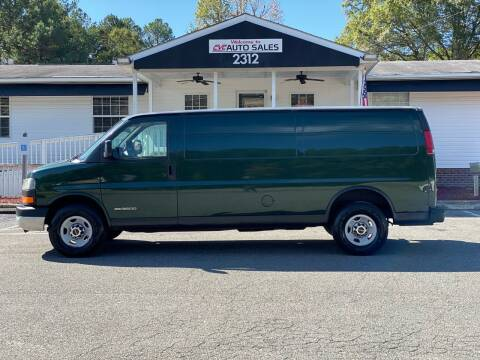 2003 GMC Savana Cargo for sale at CVC AUTO SALES in Durham NC