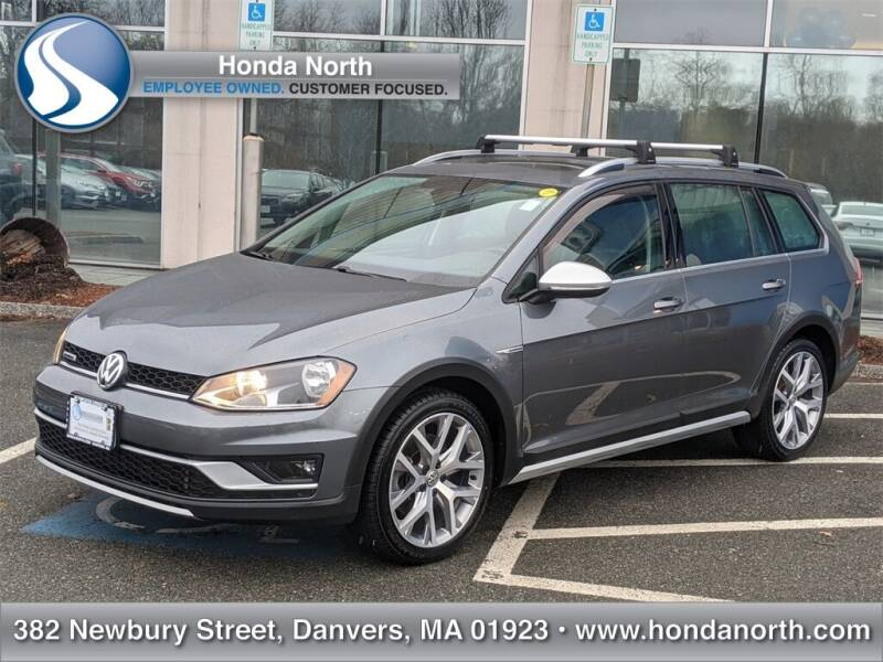 2017 Volkswagen Golf Alltrack for sale at 1 North Preowned in Danvers MA