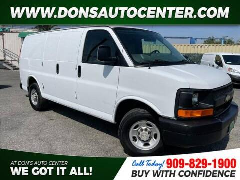 2008 Chevrolet Express Cargo for sale at Dons Auto Center in Fontana CA