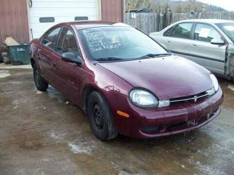 2001 Plymouth Neon for sale at East Coast Auto Source Inc. in Bedford VA