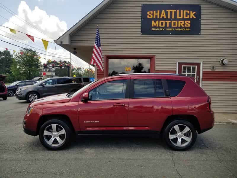 2017 Jeep Compass for sale at Shattuck Motors in Newport VT