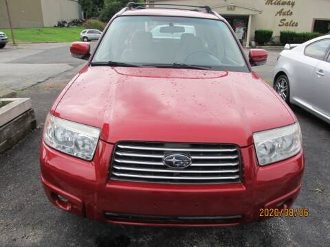 2008 Subaru Forester for sale at Mid - Way Auto Sales INC in Montgomery NY