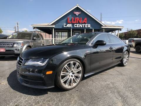 2012 Audi A7 for sale at LUNA CAR CENTER in San Antonio TX
