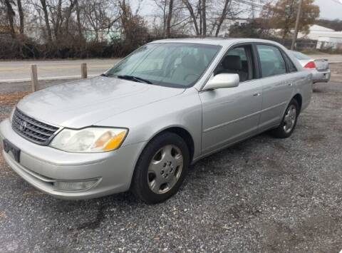 2004 Toyota Avalon for sale at Laurel Wholesale Motors in Laurel MD