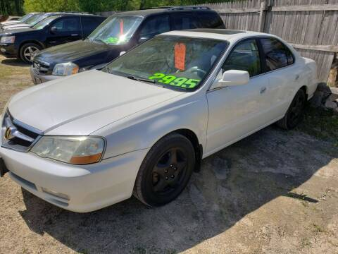2002 Acura TL for sale at Northwoods Auto & Truck Sales in Machesney Park IL
