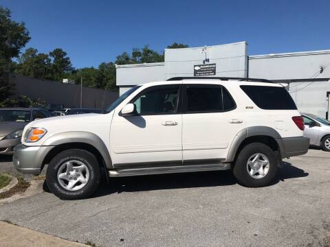 2002 Toyota Sequoia for sale at Popular Imports Auto Sales in Gainesville FL