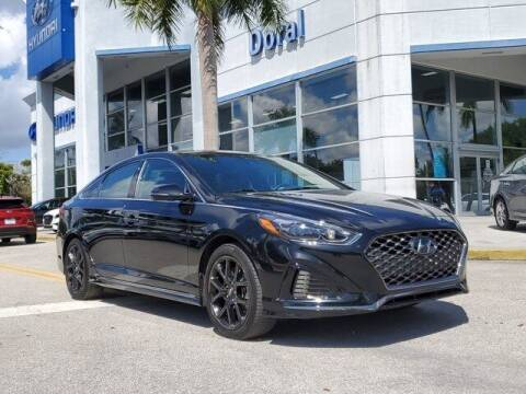 2018 Hyundai Sonata for sale at DORAL HYUNDAI in Doral FL