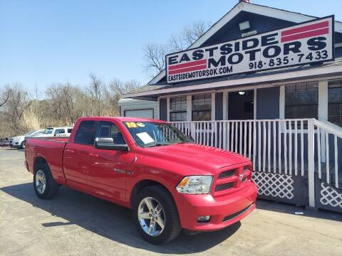 2010 Dodge Ram Pickup 1500 for sale at EASTSIDE MOTORS in Tulsa OK
