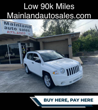 2009 Jeep Compass for sale at Mainland Auto Sales Inc in Daytona Beach FL