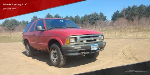 1996 Chevrolet Blazer for sale at Infinite Leasing LLC in Lastrup MN