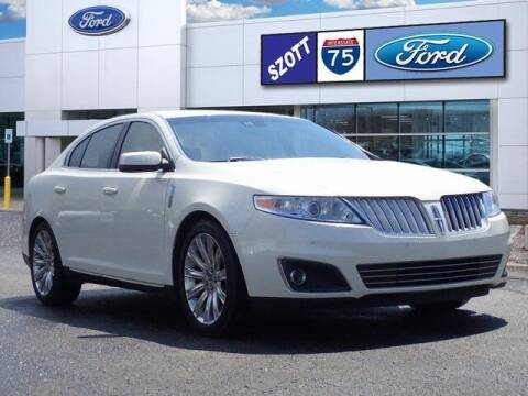 2012 Lincoln MKS for sale at Szott Ford in Holly MI