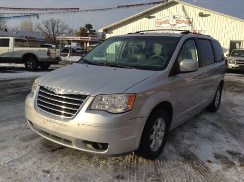 2008 Chrysler Town and Country for sale at Steves Auto Sales in Cambridge MN