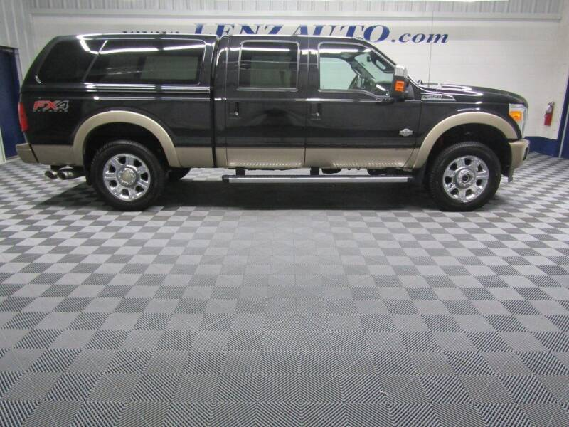 2012 Ford F-250 Super Duty for sale at LENZ TRUCK CENTER in Fond Du Lac WI
