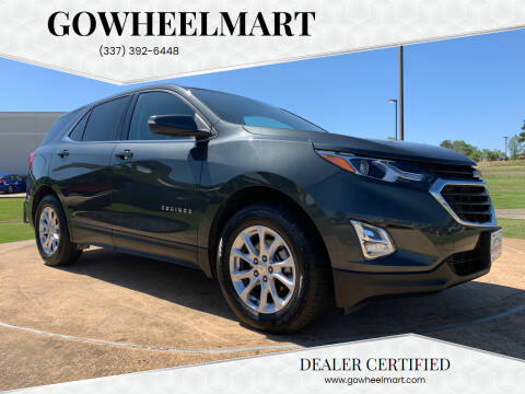 2018 Chevrolet Equinox for sale at GOWHEELMART in Leesville LA
