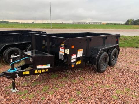 2022 Big Tex 70SR-10 Dump Box #7490 for sale at Prairie Wind Trailers, LLC in Harrisburg SD