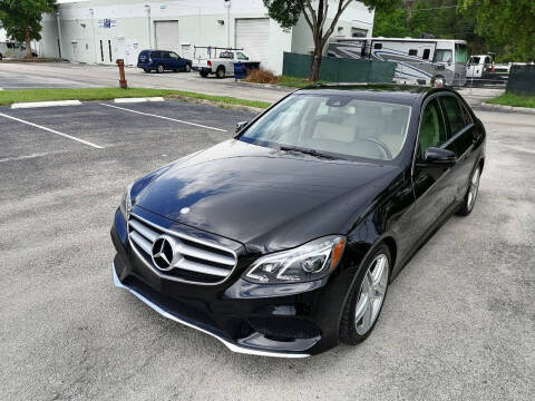 2014 Mercedes-Benz E-Class for sale at Best Price Car Dealer in Hallandale Beach FL