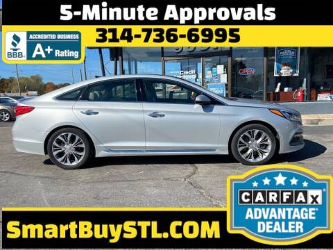 2015 Hyundai Sonata for sale at Smart Buy Car Sales in St. Louis MO