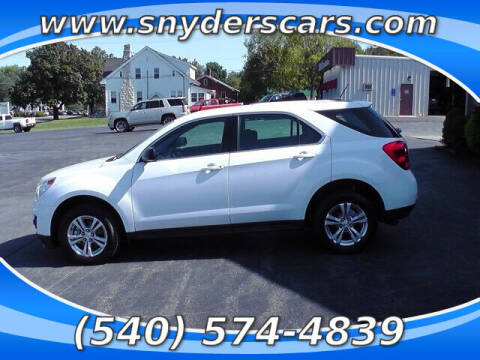 2015 Chevrolet Equinox for sale at Snyders Auto Sales in Harrisonburg VA