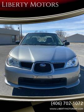 2007 Subaru Impreza for sale at Liberty Motors in Billings MT