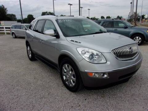 2012 Buick Enclave for sale at Marty Hart's Auto Sales in Sturgis MI