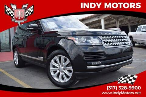 2016 Land Rover Range Rover for sale at Indy Motors Inc in Indianapolis IN