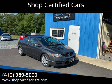 2011 Honda Civic for sale at Shop Certified Cars in Easton MD