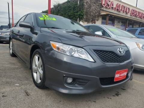 2011 Toyota Camry for sale at USA Auto Brokers in Houston TX