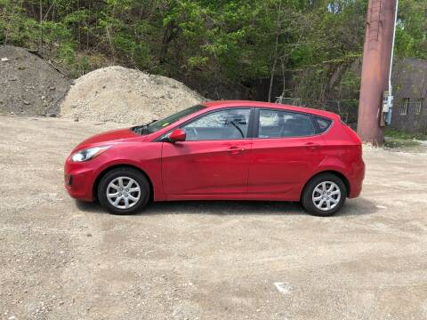 2012 Hyundai Accent for sale at Compact Cars of Pittsburgh in Pittsburgh PA
