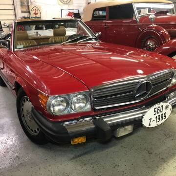 1989 Mercedes-Benz 560-Class for sale at Berliner Classic Motorcars Inc in Dania Beach FL