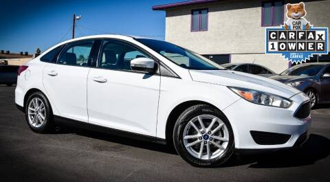 2017 Ford Focus for sale at Rahimi Automotive Group in Yuma AZ