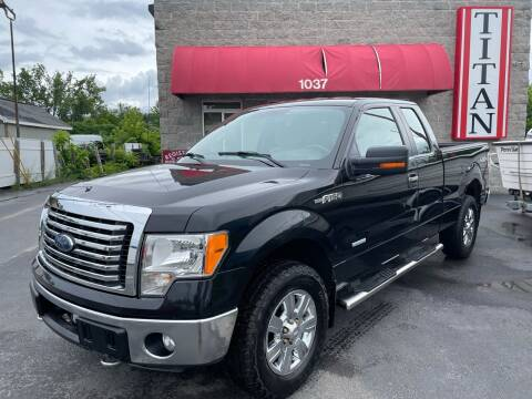 2012 Ford F-150 for sale at Titan Auto Sales LLC in Albany NY