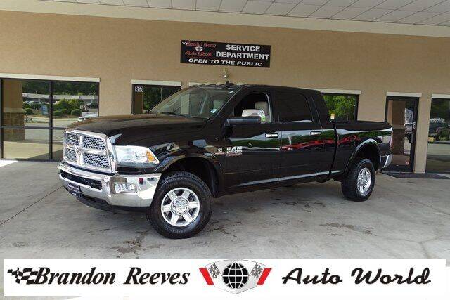 2013 RAM Ram Pickup 2500 for sale at Brandon Reeves Auto World in Monroe NC