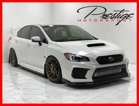 2018 Subaru WRX for sale at Prestige Motorsport in Rancho Cordova CA